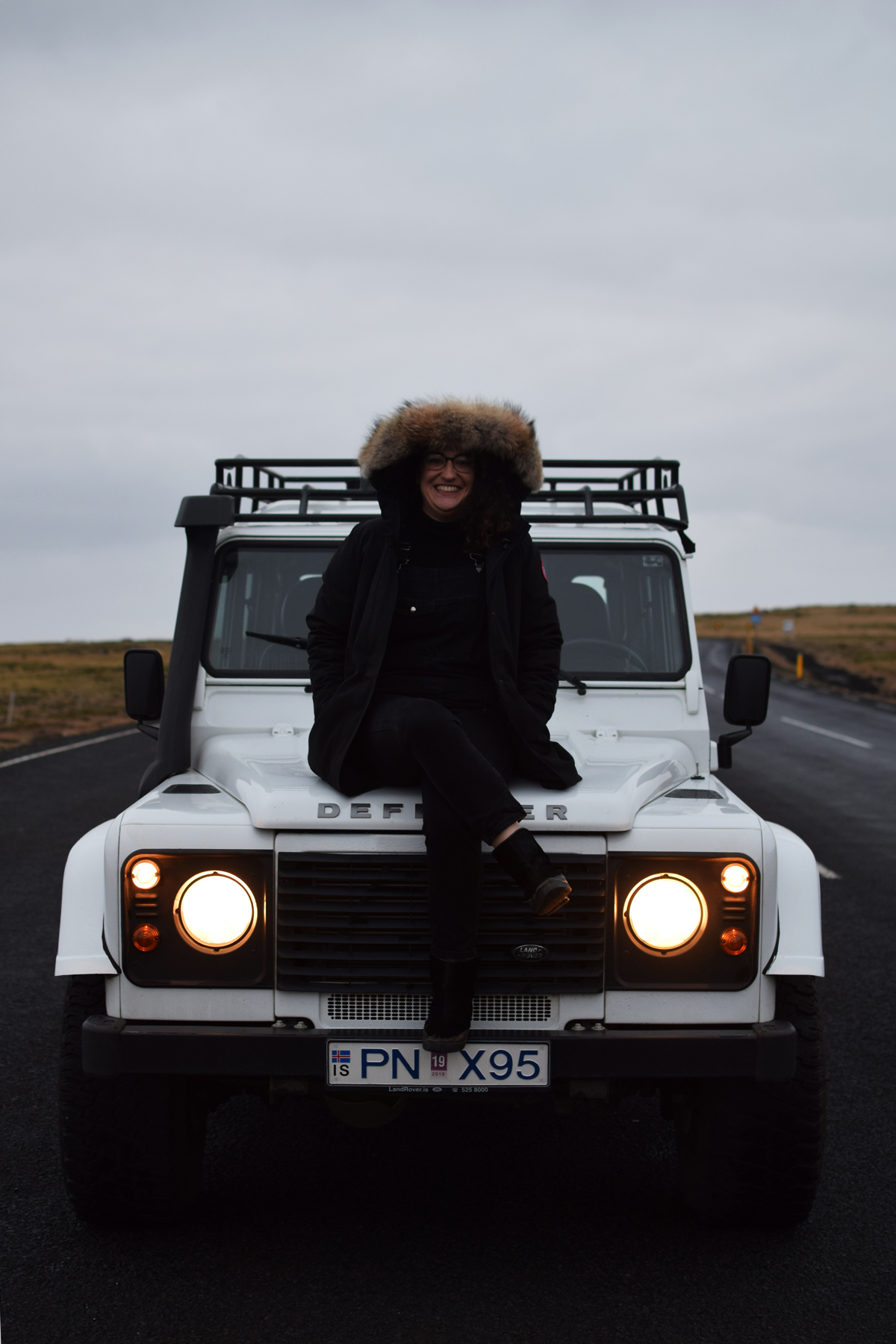 landrover 4x4 in Iceland