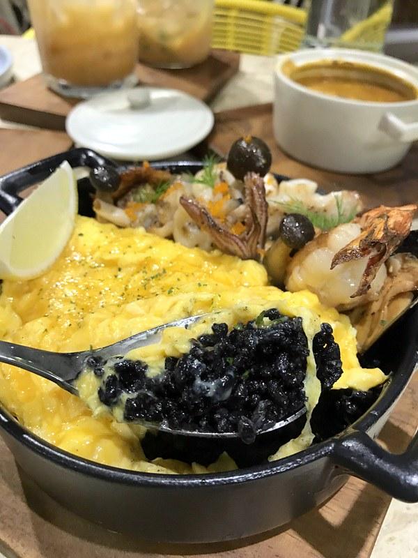 Le Petit Souffle - Squid ink Rice