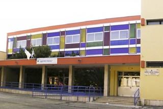 Noicattaro. Scuola Pascoli front