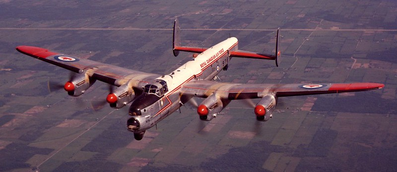 Avro-Lancaster--RCAF-post-war--SAM-Photo