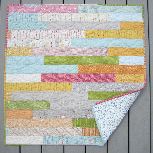 Noteworthy Baby Quilt