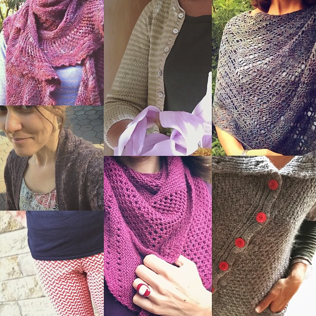 My podcast is not cooperating and I'm trying another way to upload it - but since the computer tells me it still has 1093(!) minutes to go I thought I'd post a round up of my #memademay outfits for week two in the meantime ... #mmmay15 #knittersofinstagra