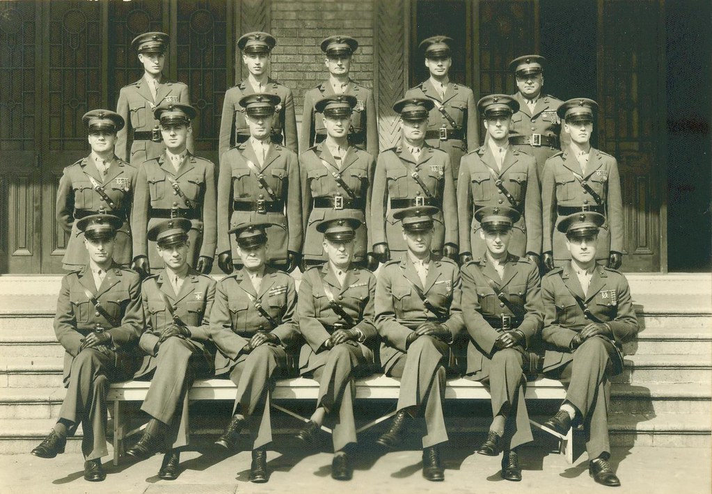 Officers, 2d Battalion, 4th Marines, Shanghai, China, 1941 ...