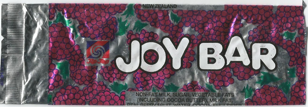 ... Late 1980s Tip Top Joy Bar Ice Cream Wrapper   New Zealand | By  NZCollector