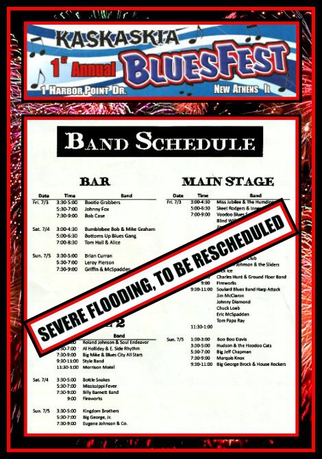 Kaskaskia BluesFest Bands