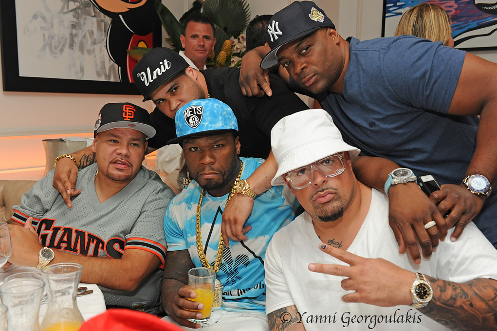50 cent and fat joe at bagatelle miami beach by yankis