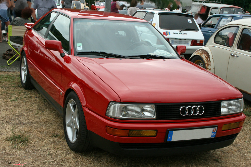audi 80coup 2 2e 2 me rdv autos et motos anciennes de bre flickr. Black Bedroom Furniture Sets. Home Design Ideas