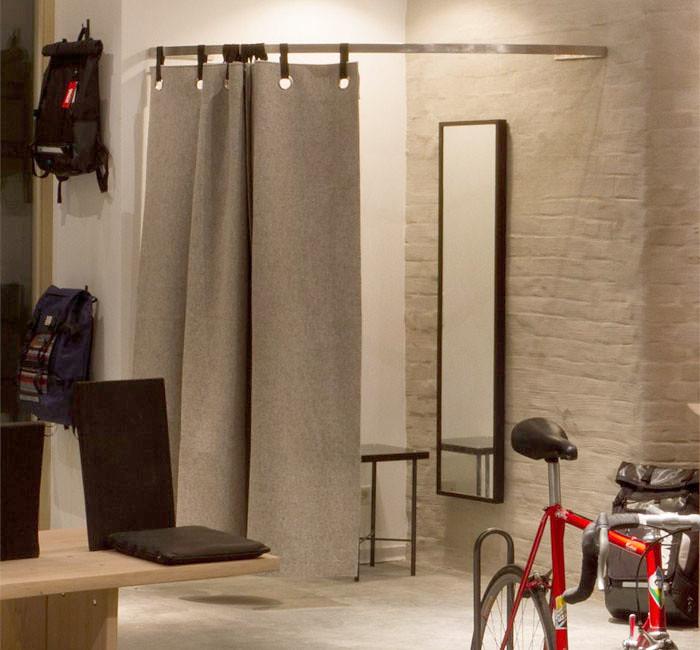 Filzvorhang Umkleide Auch Als Sichtschutz Vor Umkleideka Flickr