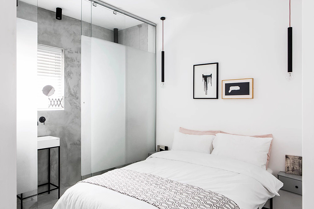 SIG black and white apartment by Yael Perry Sundeno_12