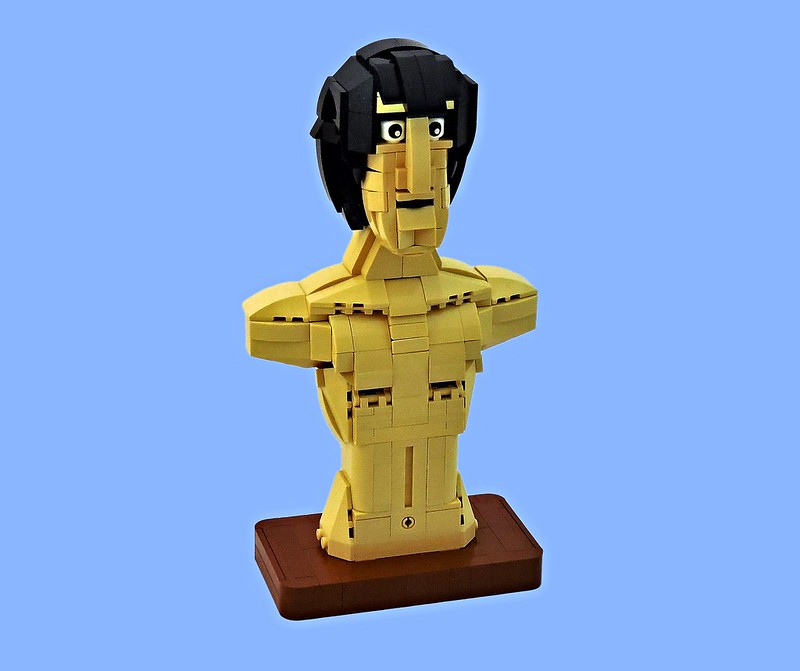 LEGO® MOC by Vitreolum: Lux Interior Bust
