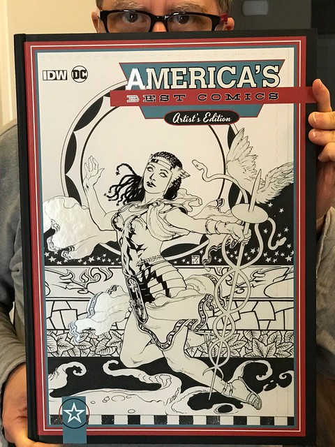 America's Best Comics - Artist Edition - Promethea Cover