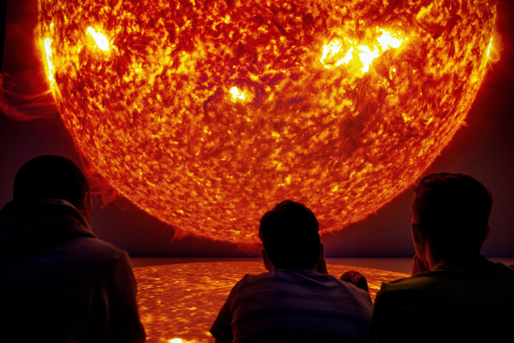 Sun Deep Space 8k Quot Sun Quot Enables Viewers In The Ars