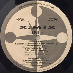 V.A.:X-MIX ISSUE FOURTEEN 1993(LABEL SIDE-A)