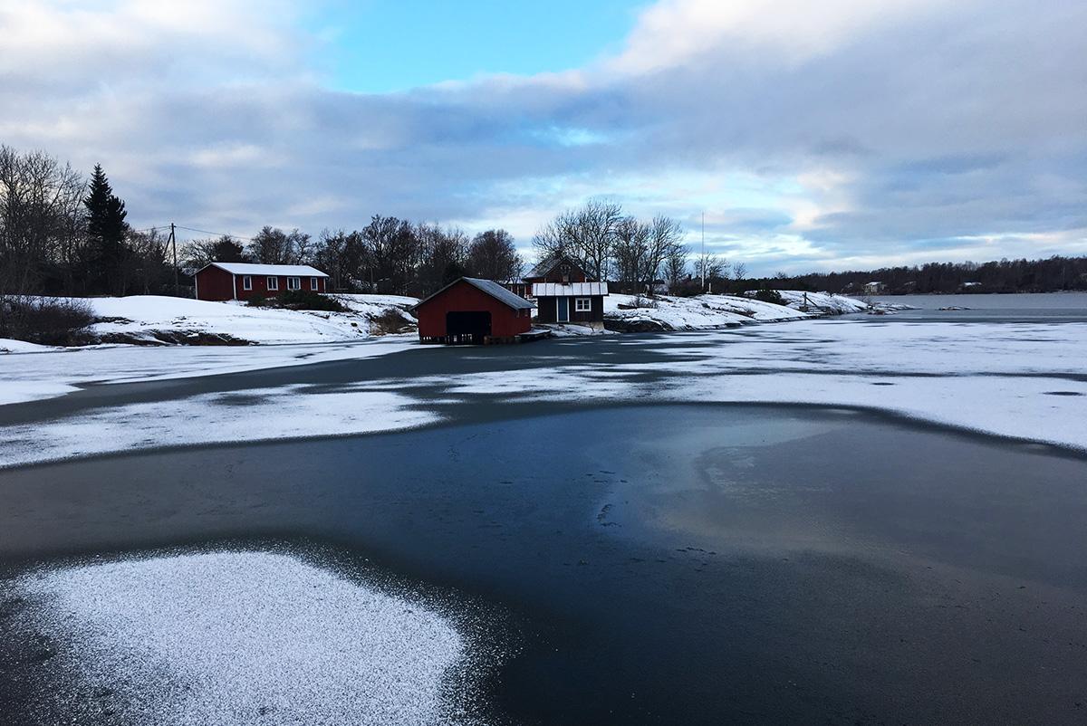 Ahvenanmaa talvella
