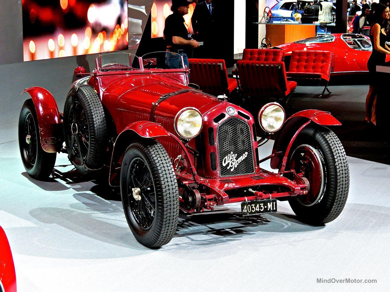 Alfa Romeo 8C Monza Front NYIAS