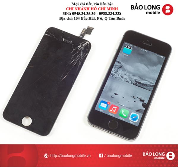 Cho hỏi về chuyện thay màn hình iPhone 5S chỗ nào chất lượng trong SG