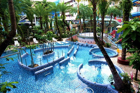 中冠礁溪大飯店~星河傳說水世界宜蘭最大溫泉樂園,玩到不想回家