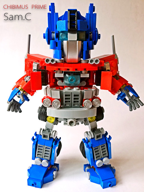 LEGO Transformers: Chibimus Prime- Matrix of Leadership