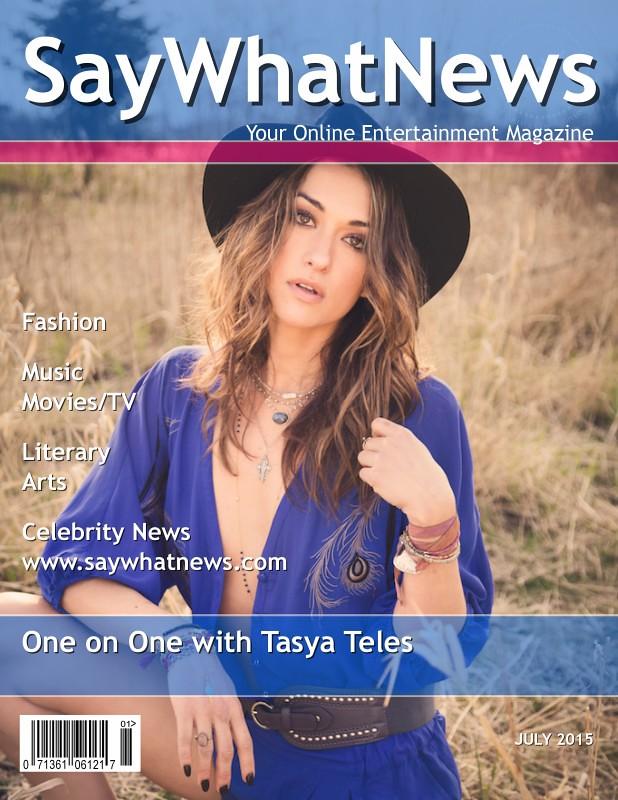 Tasya Teles July 2015 interview