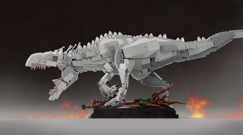 Lego Ideas Indominus Rex Jurassic
