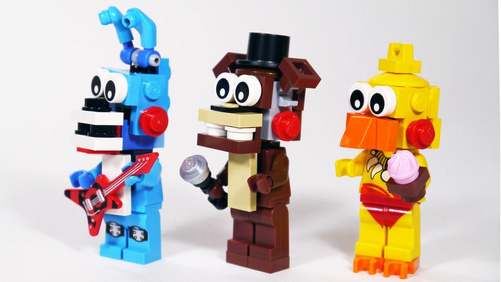 LEGO Toy Animatronics FNAF See How To Build Them Www
