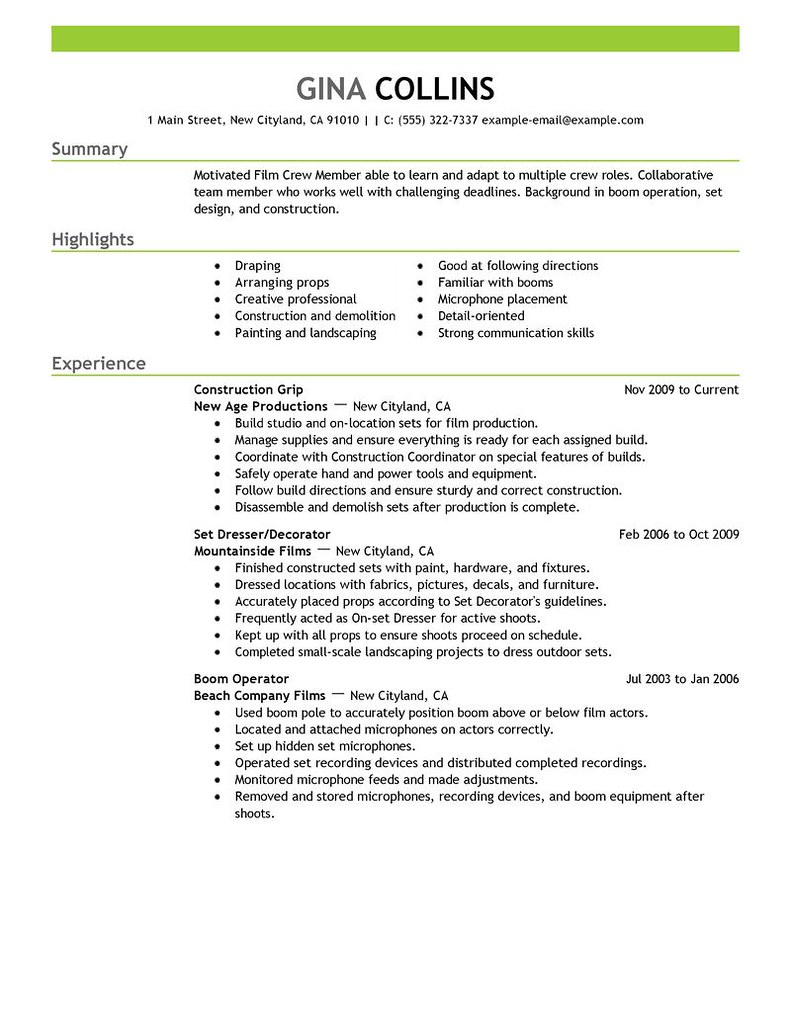 production resume example pablo penantly co
