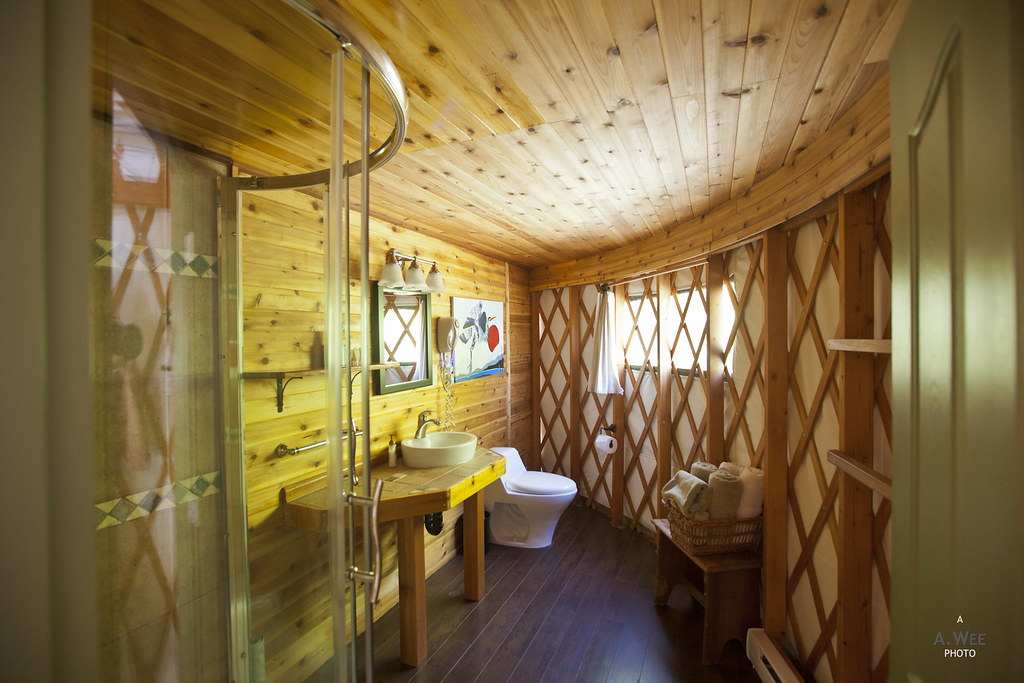 ... Bathroom in the Yurt | by A. Wee