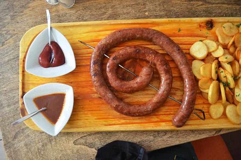 Metre long sausage, Tacoa, Tenerife