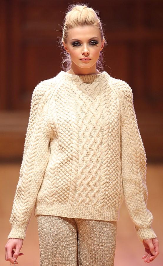 Sexy Irish Blonde Aran Wool Girl  Mytwist  Flickr-3855