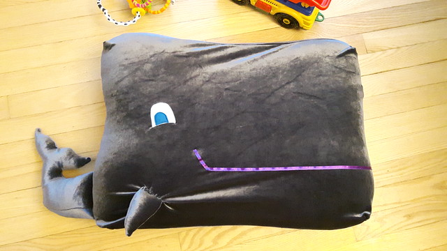 Whale Floor Cushion 36