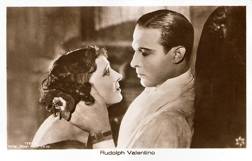 Rudolph Valentino and Helen d'Algy in A Sainted Devil (1924)