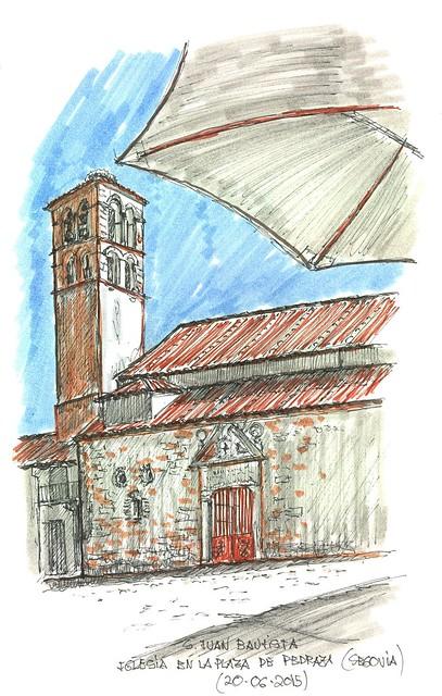 Pedraza (Segovia). Iglesia de San Juan Bautista