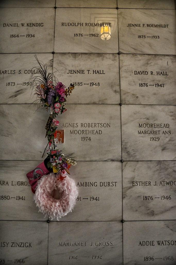 Agnes Moorhead Crypt