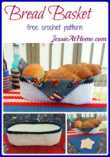 Bread Basket ~ free crochet pattern by Jessie At Home