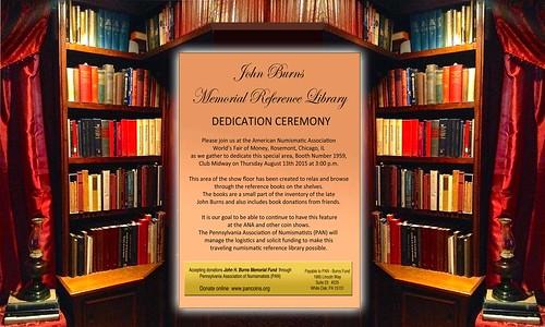 Burns Library Dedication