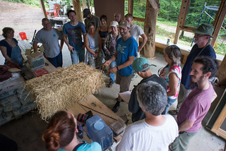 Going Slowly Strawbale Workshop 2015 | by goingslowly