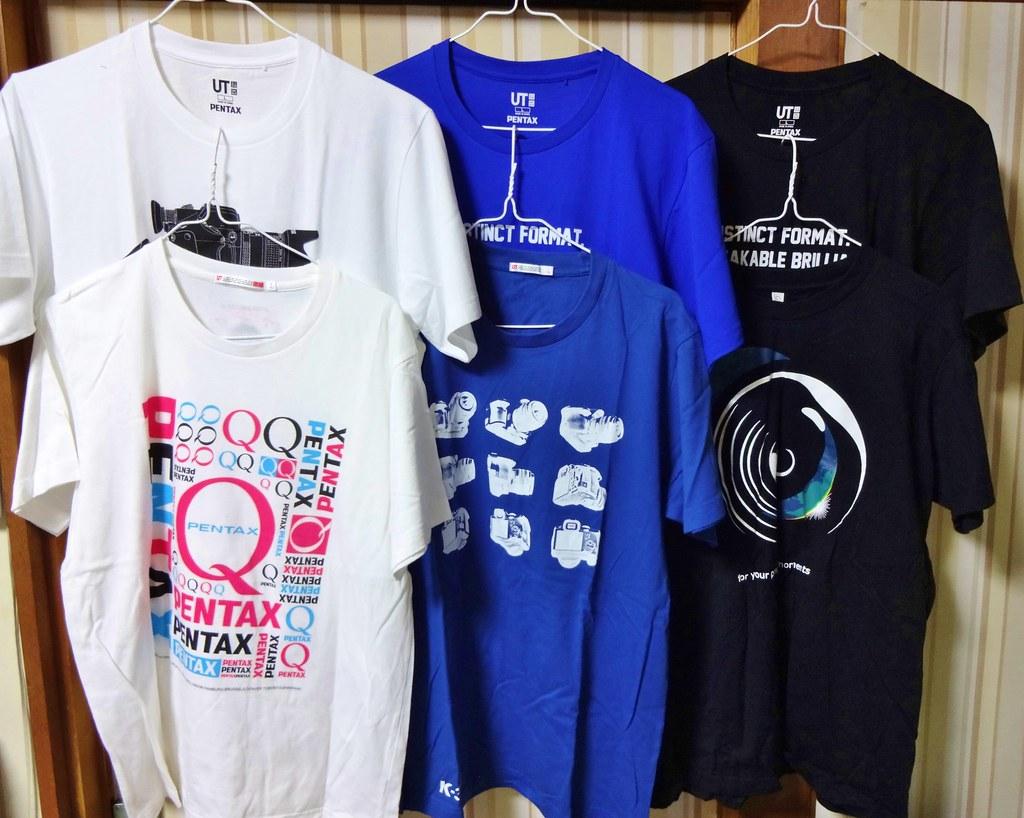ユニクロ PENTAX Tシャツ #8