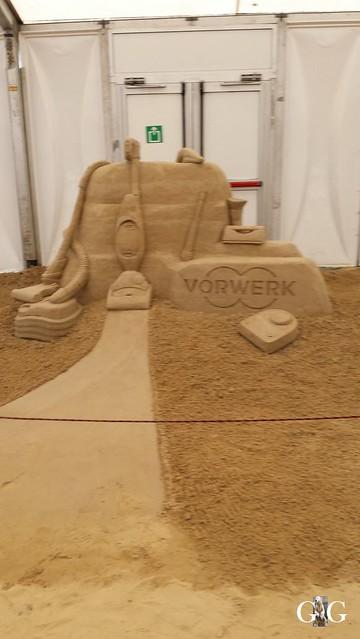 Swinemünde Sand Skulpturen Festival 201577