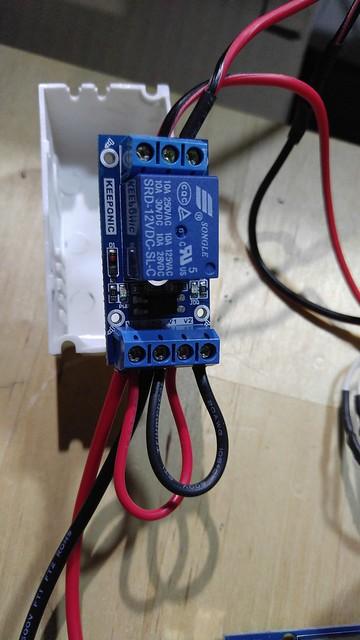熱床電路加裝繼電器
