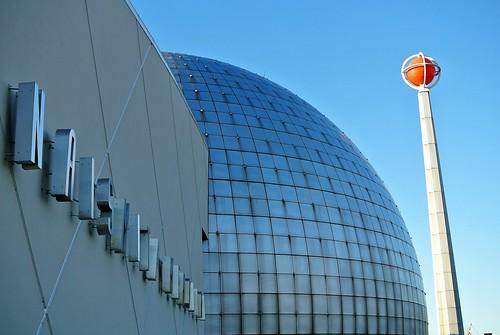 Dome and ball