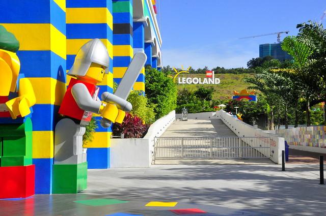 Legoland Malaysia Back Entrance