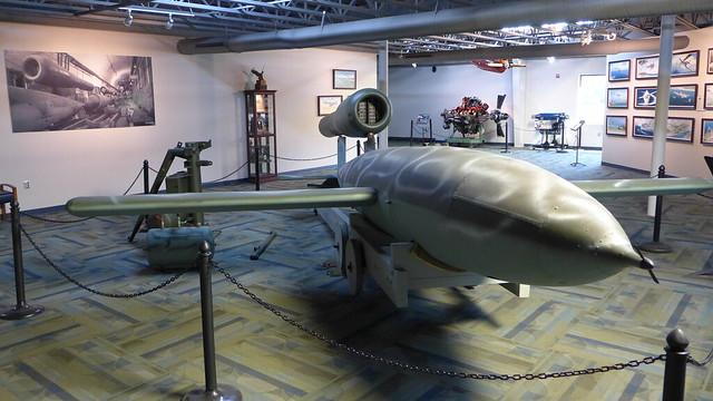 1944 WWII german V1 pulse jet