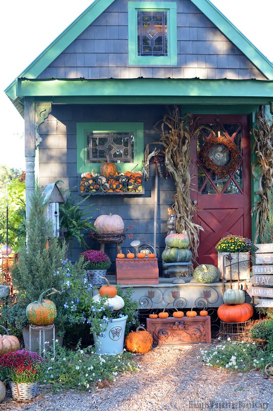 Potting Shed/Autumn-Home Is Where the Boat Is-Housepitality Designs