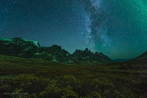 Tombstone Milky Way