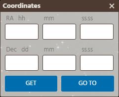 Coordinates Form