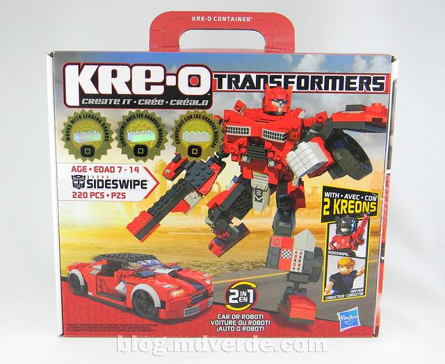 Transformers Sideswipe Kre-O - caja