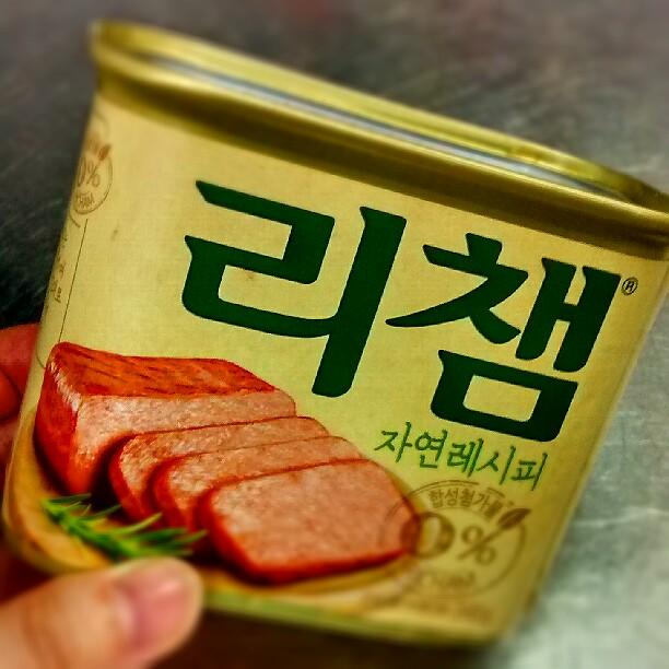 スパムっぽい缶詰