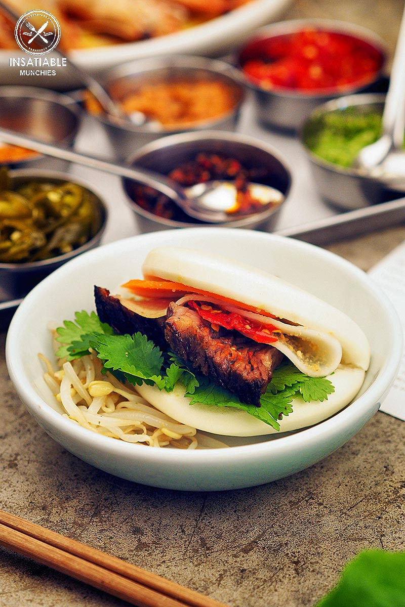 Review of Cho Cho San, Potts Point: beef short ribs in white steamed buns