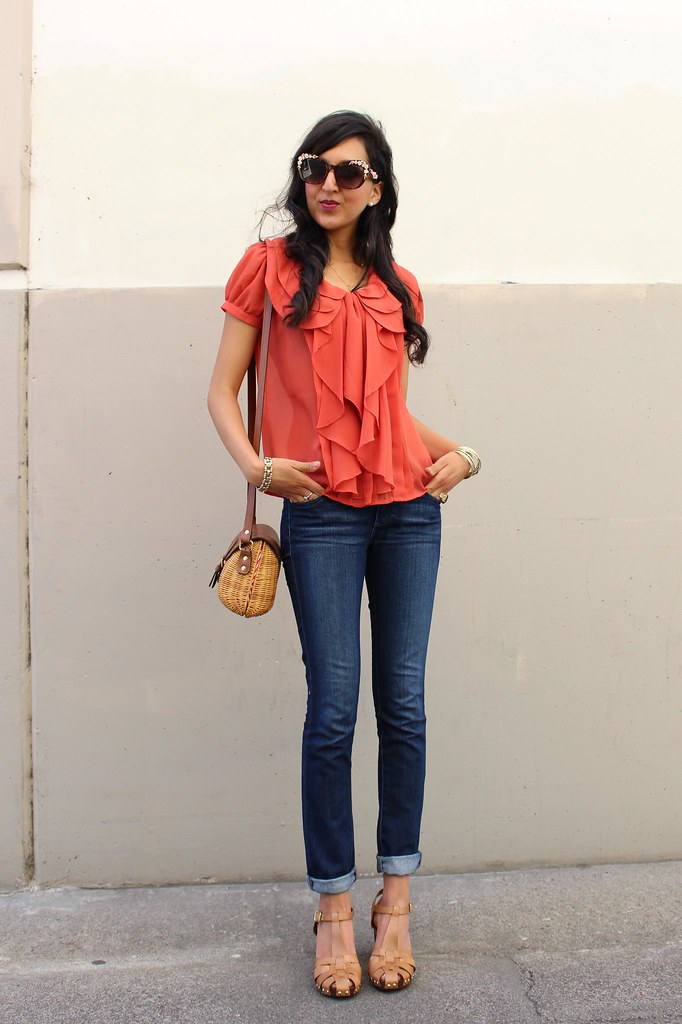 Orange Casual 1