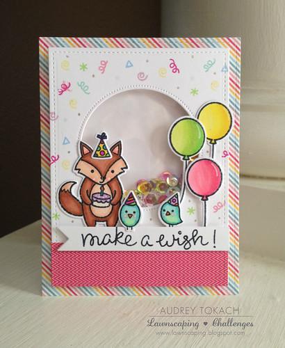 Make a Wish Shaker